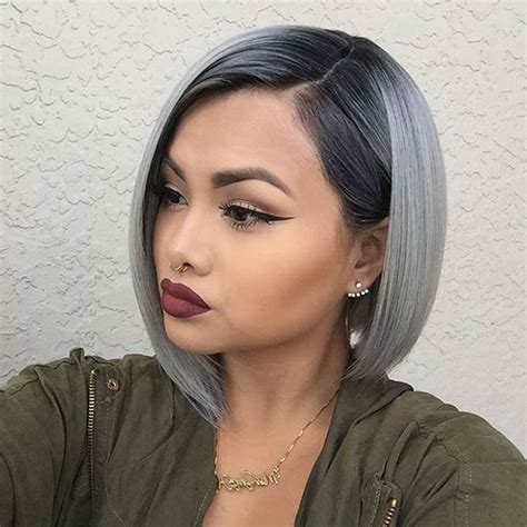 hairstyles and colours for greying hair 21 stunning grey hair color ideas and styles stayglam