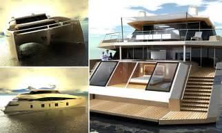 big boat studio luxury superyacht shaped like catamaran boasts gymnasium