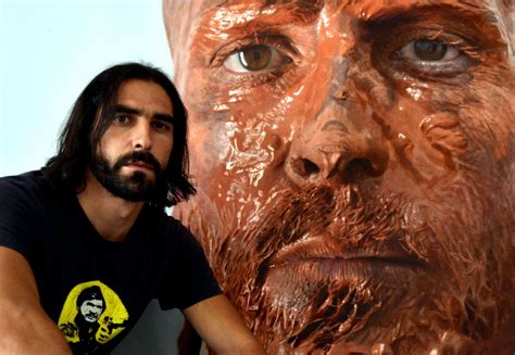 painting realistic hyperrealistic self portraits eloy morales the superslice