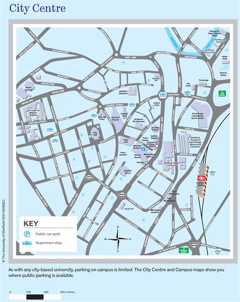 map city centre sheffield city centre map maps and travel advice