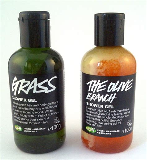 Lush Grass Shower Gel by Beautyswot Lush The Olive Branch And Grass Shower Gels