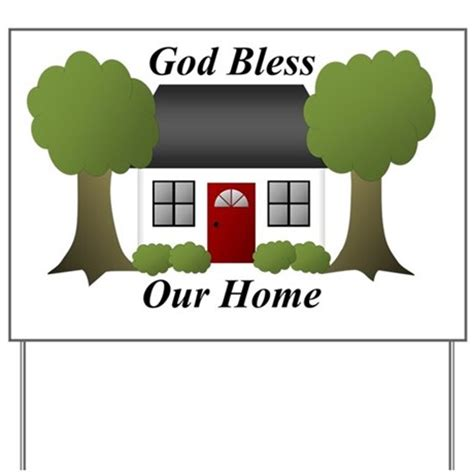 god bless our home yard sign by admin cp66350101