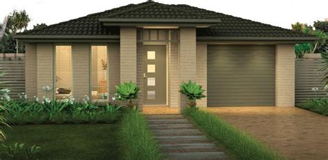 The Home Designers Front Of The House Exteriors Single Storey Home