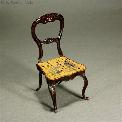 dolls house chairs antique doll chair antique furniture