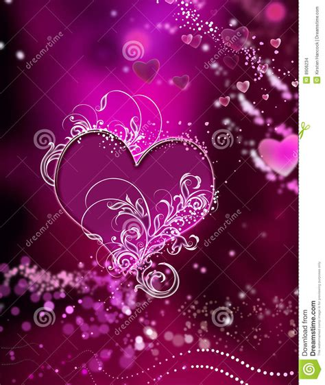 stunning hearts  sparkles swirl abstract stock images image