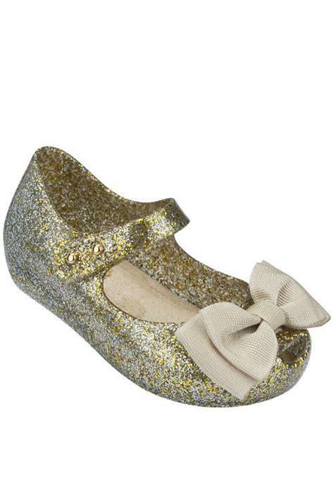 Mini Sweet I Gold mini ultragirl gold glitter sweet bow shoe