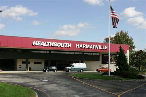 Ambulatory Detox Pittsburgh Pa by Healthsouth Harmarville 320 Guys Run Road Pittsburgh Pa 15238