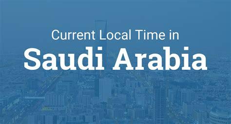 time  saudi arabia