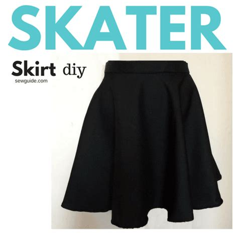 Make a Skater Skirt { DIY Pattern & tutorial}   Sew Guide