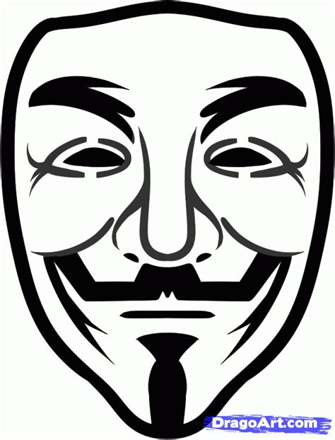 printable anonymous mask step 6 how to draw guy fawkes guy fawkes from v for vendetta
