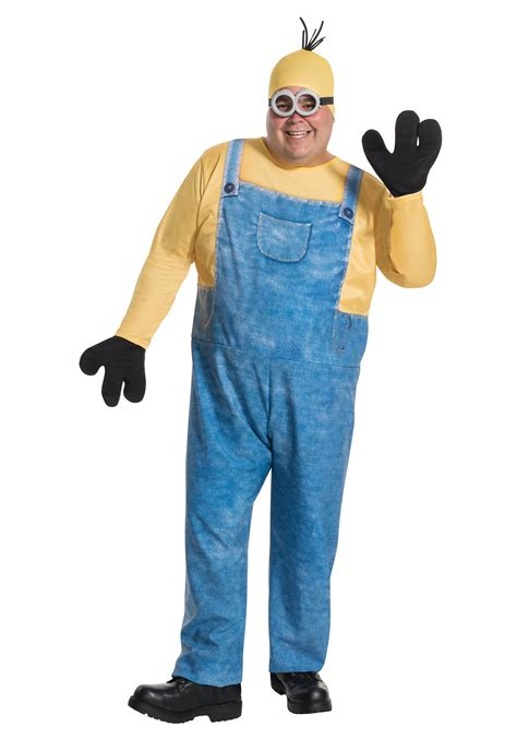 minion costumes plus size minion kevin costume