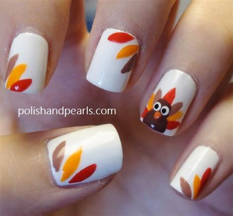 thanksgiving nail art thanksgiving nail art 13 festive fall manicure tutorials