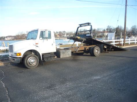 used trucks used 2000 international 4700 rollback tow truck for sale