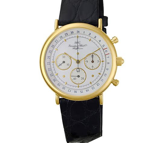 iwc chronograph gold world s best