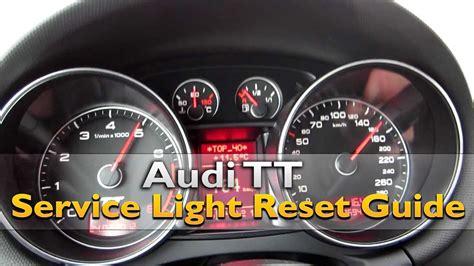 security system 2009 audi tt head up display audi tt service light reset youtube