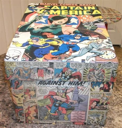 kracalactaka creations comic decoupage comic