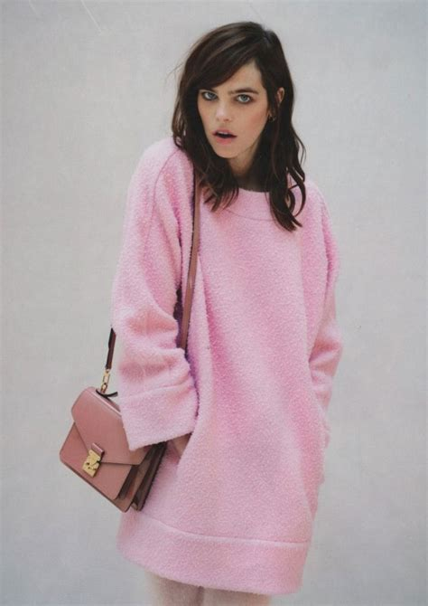 Two Color Sweater Pink 4 00 pm fashion fix can real wear pink