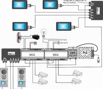 audio tech intercom systems wiring diagram entry door