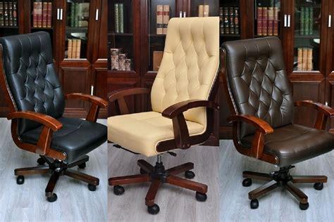 poltrona per ufficio poltrona direzionale in pelle beige crema moderna ed elegante