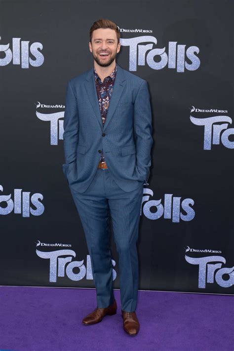Justins Premiere by Justin Timberlake At The Trolls Australian Premiere In
