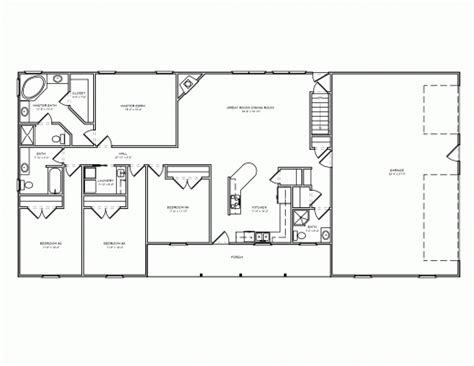 simple ranch house plans 17 best images about interest homes floor plans on 4