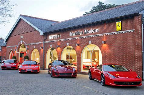 ferrari dealership showroom uk ferrari dealer wins best showroom in the world prize