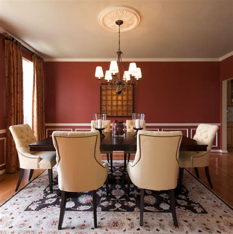 dining room wall ideas wall moulding ideas dining room contemporary with crown molding gold accents beeyoutifullife