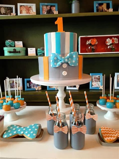 Kara S Party Ideas Bow Tie Birthday Party Kara S Party Ideas Bow Tie Ideas