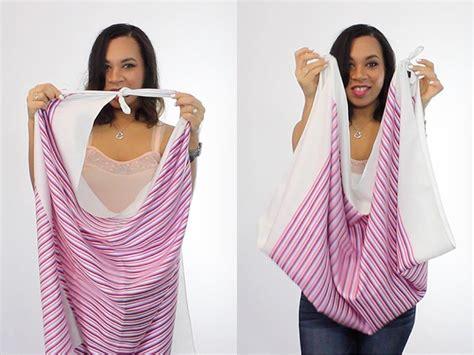4 stylish ways to wear a scarf the way to my hart