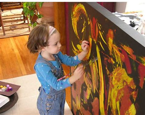 painting 4 year olds sunderland student marla olmstead child prodigy