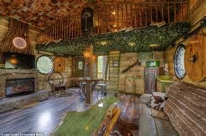 Two Bedroom Cottage Plans Hobbit Tree House Rental In Black Hills South Dakota Wows