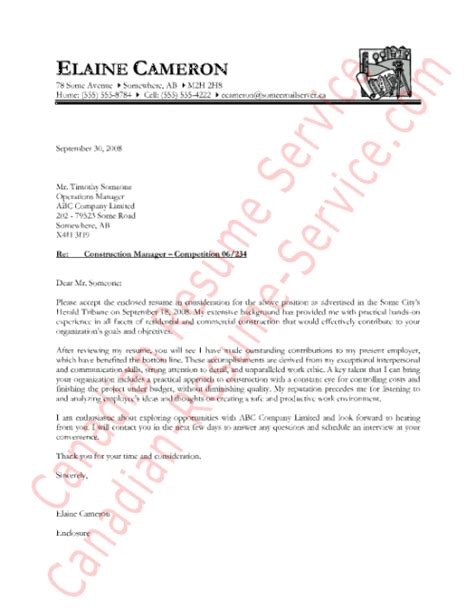 Construction Superintendent Cover Letter Exles Construction Superintendent Cover Letter
