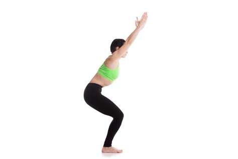Chair Pose by The 6 Best Poses For Rapid Permanent Weight Loss