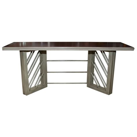 console dining table convertible convertible console and dining table at 1stdibs