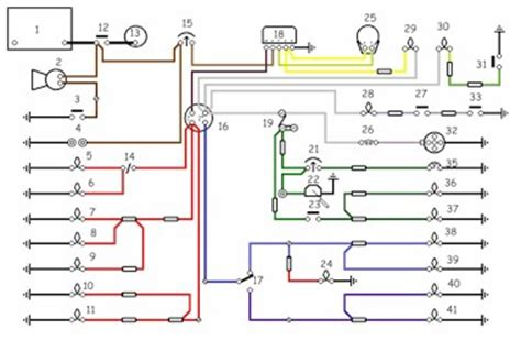 land rover series 3 indicator wiring diagram style