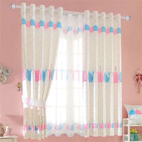 cute curtains for bedroom cute pink polka dots fish polyester bedroom kids curtains