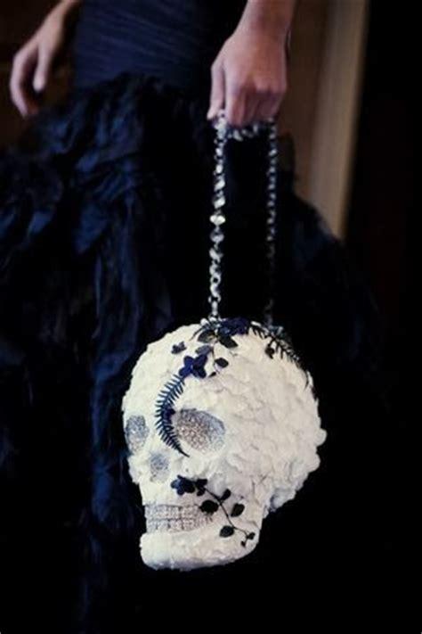 sparkly skull wedding decor this tale