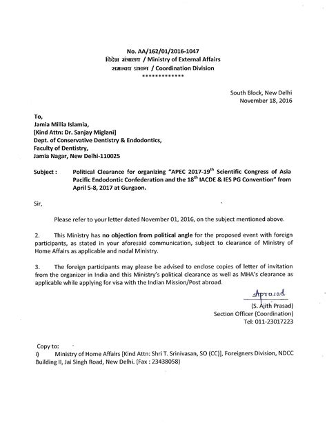 Dental Conference Invitation Letter Important Information For International Buyers Icpb India Convention Promotion Bureau