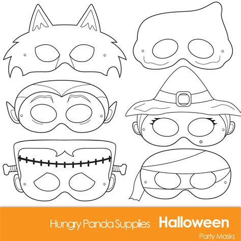 free printable halloween masks to colour halloween masks printable halloween costume halloween