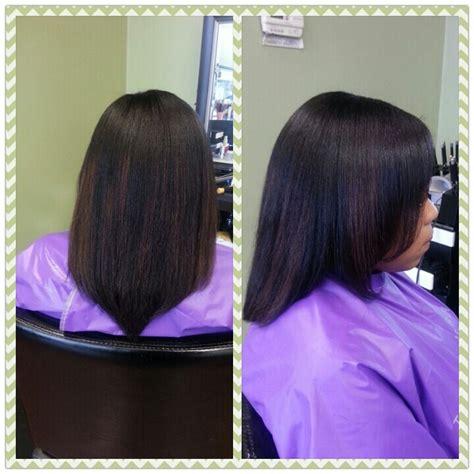 natural sew in bang l hair flat iron natural hair flat iron hair pinterest flats hair