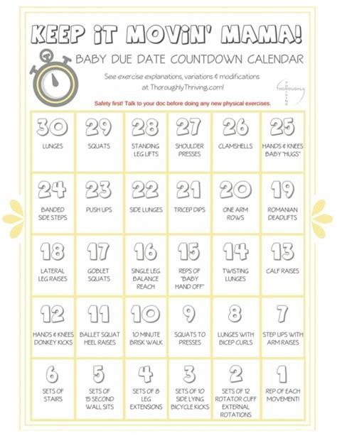 Pregnancy Countdown Calendar Printable Free Calendar Template Printable Countdown Calendar Template