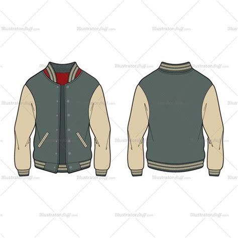 varsity jacket template psd best 25 mens varsity jacket ideas on