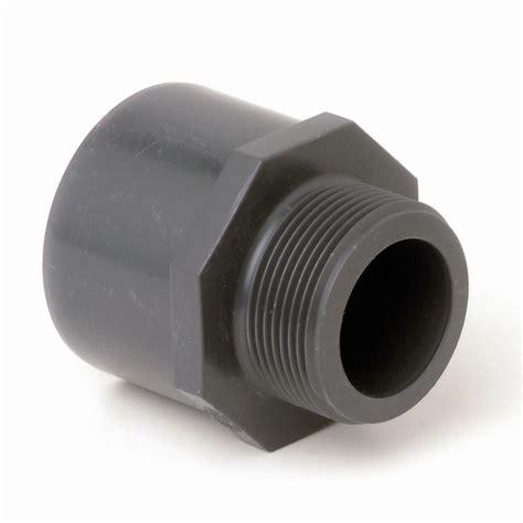 durapipe pvc plastic threaded adaptors in metric