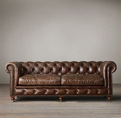 quot the kensington leather sofas quot 84 quot in glove 2795