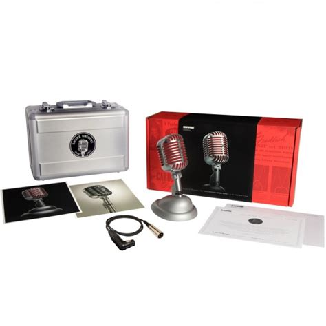 Shure 5575le Limited Edition 75th Anniversary Microphone shure 5575le unidyne limited edition 75th anniversary