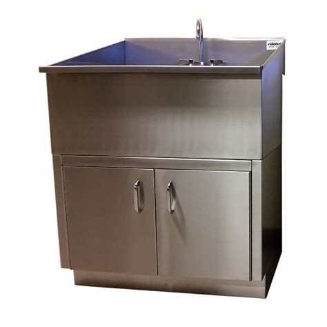 stainless steel sink base cabinet ridalco laundry sinks