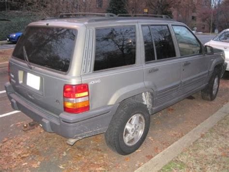 1995 Jeep Grand Mpg Sell Used 1995 Jeep Grand Laredo Low Mileage In