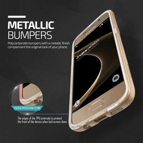 Accu Mobil Gold Shine vrs design bumper samsung galaxy s7 shine gold