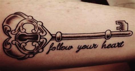 significado da tatuagem de chave