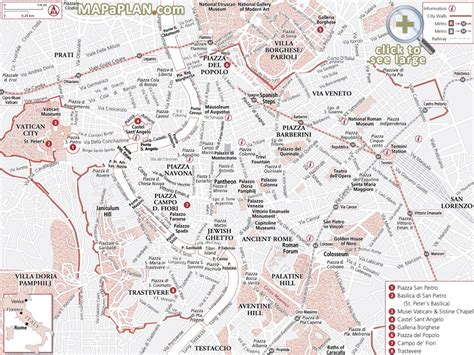 printable map locations free tourist map of rome download rome map tourist
